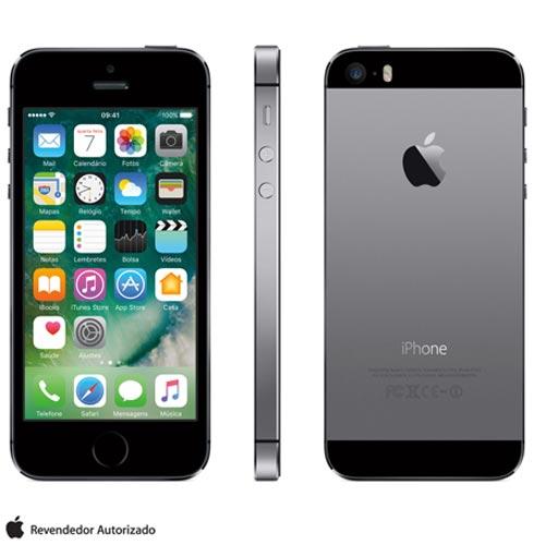 Iphone 5s Space Gray, Com Tela de 4, 4g, 16 Gb e Camera de 8 Mp - Me432br/a - Aeme432bracnz Bivolt